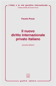 Il nuovo diritto internazionale privato italiano