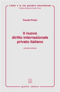 Libro Il nuovo diritto internazionale privato italiano Fausto Pocar