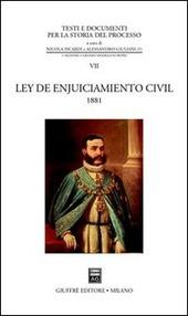Ley de enjuiciamiento civil (1881)