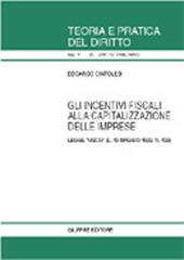 Gli incentivi fiscali alla capitalizzazione delle imprese. Legge «Visco» (L. 13 maggio 1999, n. 133)