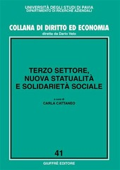 Terzo settore, nuova statualità e solidarietà sociale