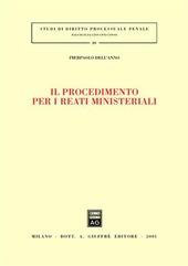 Il procedimento per i reati ministeriali