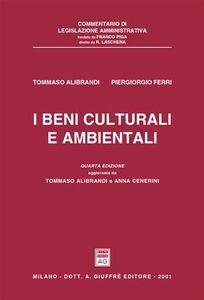 Libro I beni culturali e ambientali Tommaso Alibrandi , P. Giorgio Ferri