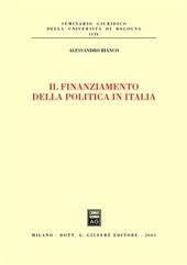 Il finanziamento della politica in Italia