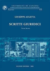 Libro Scritti giuridici. Vol. 2 Giuseppe Auletta