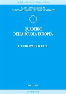 Libro Quaderni della scuola europea (2000). Vol. 2: L'Europa sociale.