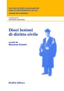 Libro Dieci lezioni di diritto civile