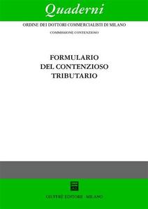 Libro Formulario del contenzioso tributario