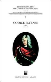 Codice estense 1771