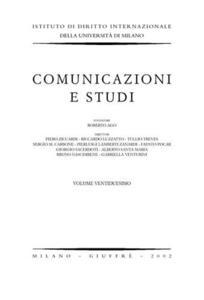 Comunicazioni e studi. Vol. 22