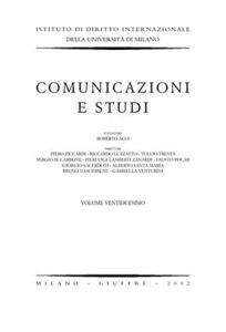 Libro Comunicazioni e studi. Vol. 22