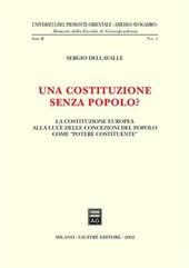 Una costituzione senza popolo? La costituzione europea alla luce delle concezioni del popolo come «potere costituente»