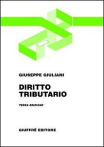 Libro Diritto tributario Giuseppe Giuliani