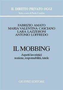 Libro Il mobbing. Aspetti lavoristici: nozione, responsabilità, tutele