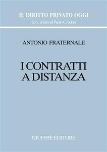 Libro I contratti a distanza Antonio Fraternale