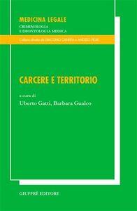 Foto Cover di Carcere e territorio, Libro di  edito da Giuffrè