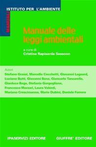 Foto Cover di Manuale delle leggi ambientali, Libro di  edito da Giuffrè