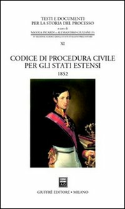 Libro Codice di procedura civile per gli Stati estensi (1852)