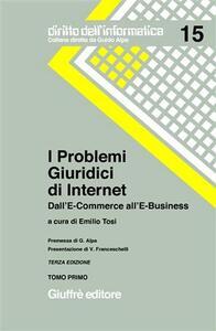 I problemi giuridici di Internet. Dall'e-commerce all'e-business