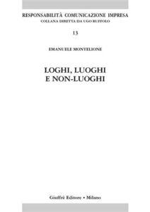 Libro Loghi, luoghi e non-luoghi Emanuele Montelione