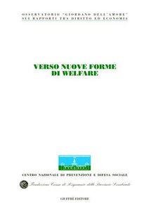 Libro Verso nuove forme di welfare