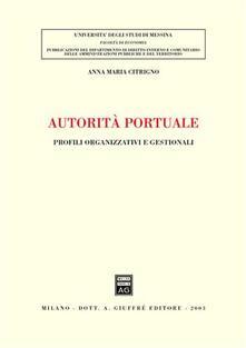 Daddyswing.es Autorità portuale. Profili organizzativi e gestionali Image