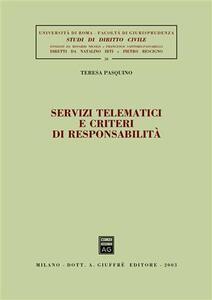 Servizi tematici e criteri di responsabilità - Teresa Pasquino - copertina