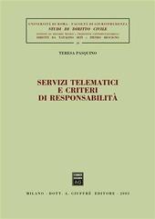 Servizi tematici e criteri di responsabilità