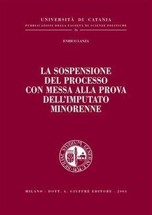 Premioquesti.it La sospensione del processo con messa alla prova dell'imputato minorenne Image