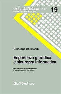 Libro Esperienza giuridica e sicurezza informatica Giuseppe Corasaniti