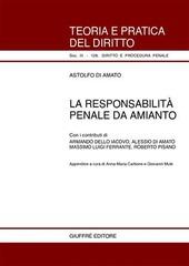 La responsabilità penale da amianto