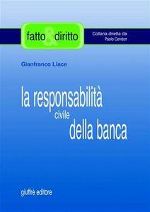 La responsabilità civile della banca