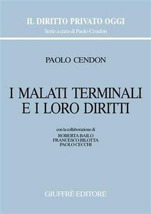 Libro I malati terminali e i loro diritti Paolo Cendon