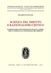Scienza del diritto e razionalismo critico. Il programma epistemologico di Hans Albert per la scienza e la sociologia del diritto