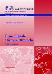 Firma digitale e firme elettroniche. Profili privatistici