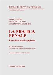 La pratica penale. Procedura penale applicata