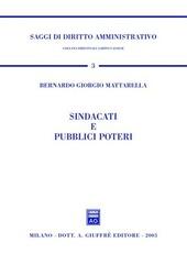 Sindacati e pubblici poteri