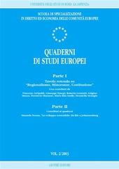 Quaderni di studi europei (2003). Vol. 2