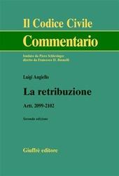 La retribuzione. Artt. 2099-2102