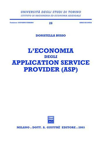 Libro L' economia degli application service provider (ASP) Donatella Busso