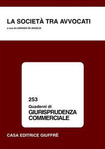 Libro La società tra avvocati