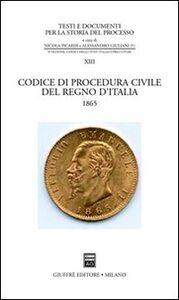 Libro Codice di procedura civile del Regno d'Italia (1865)