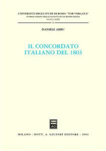 Il concordato italiano del 1803 - Daniele Arru - copertina