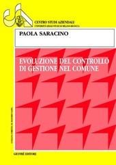 Evoluzione del controllo di gestione nel comune