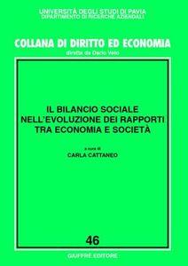 Foto Cover di Il bilancio sociale nell'evoluzione dei rapporti tra economia e società, Libro di  edito da Giuffrè