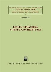 Lingua straniera e testo contrattuale