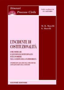 L' incidente di costituzionalità. Come formulare le questioni di costituzionalità senza incorrere nella sanzione della inammissibilità