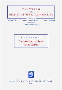 Libro L' amministrazione controllata Stefania Pacchi Pesucci