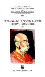 Libro Ordinanza della procedura civile di Francesco Giuseppe (1895)