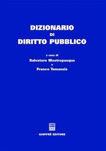 Dizionario di diritto pubblico